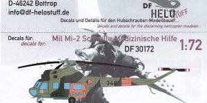 Decals für Mil Mi-2 SMH SAR von DF-Helostuff in 1:72