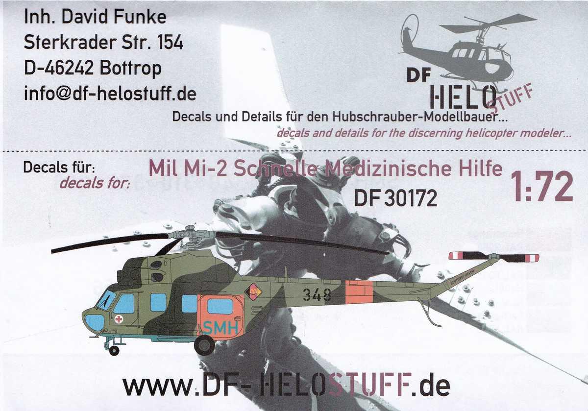 DF-HeloStuff-DF-30172-1 Decals für Mil Mi-2 SMH SAR von DF-Helostuff in 1:72