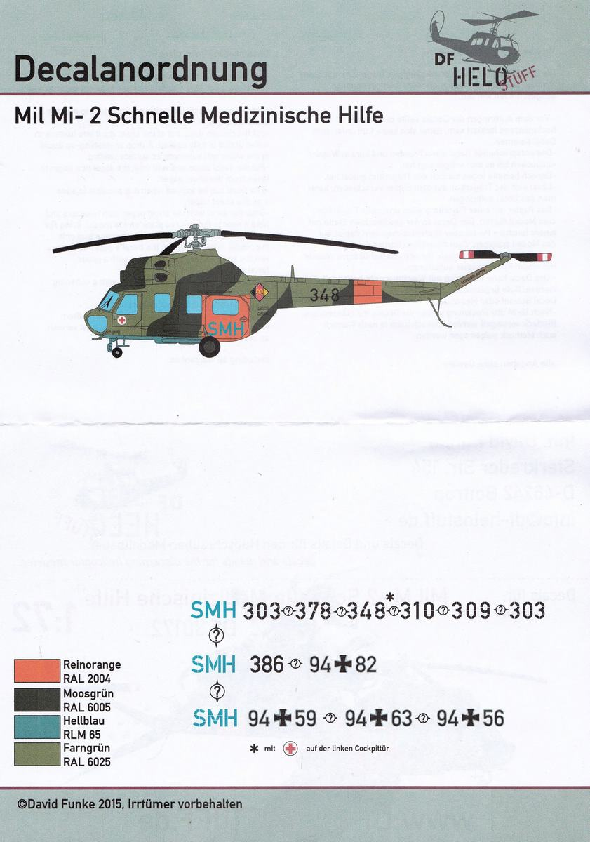 DF-HeloStuff-DF-30172-3 Decals für Mil Mi-2 SMH SAR von DF-Helostuff in 1:72