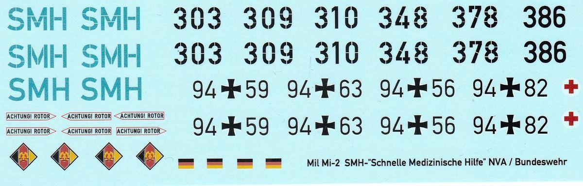 DF-HeloStuff-DF-30172-4 Decals für Mil Mi-2 SMH SAR von DF-Helostuff in 1:72