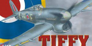 TIFFY – Typhoon Mk. Ib von Eduard im Maßstab 1:48 ( # 1131 )