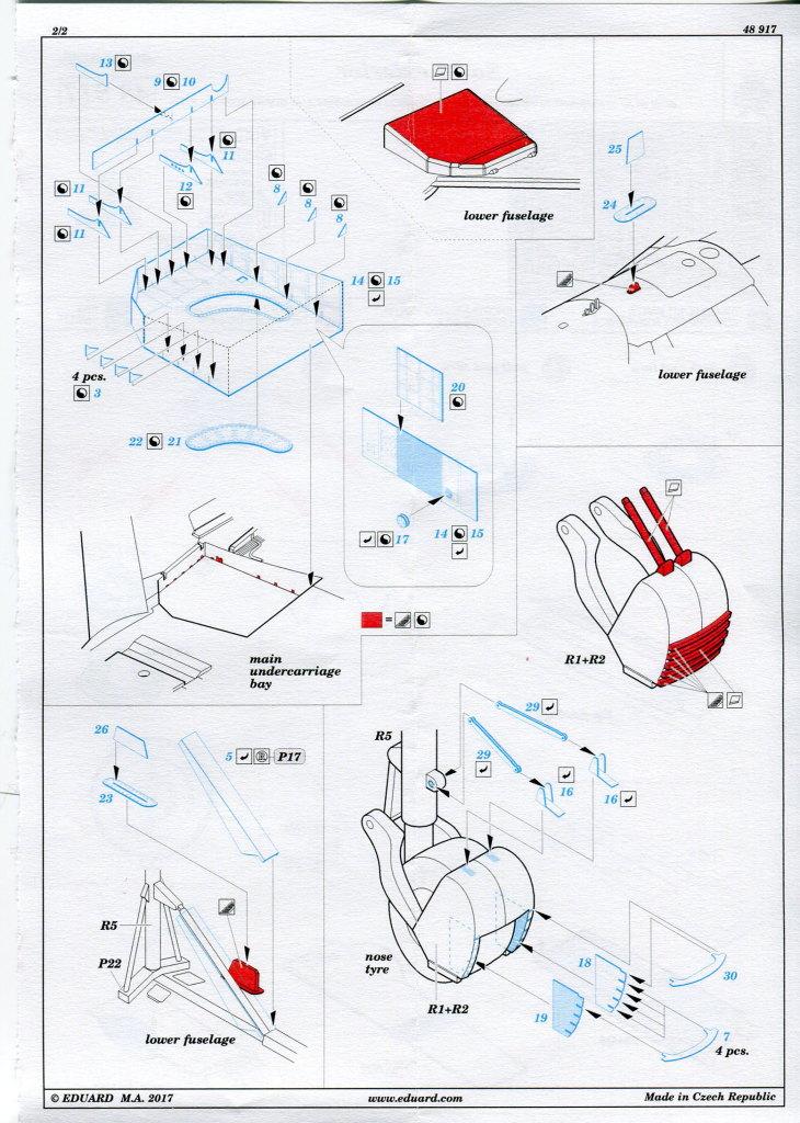 Eduard_Ext_Su-27_HB_03 Eduard-Zubehör für die Su-27 Flanker B von Hobby Boss - 1/48