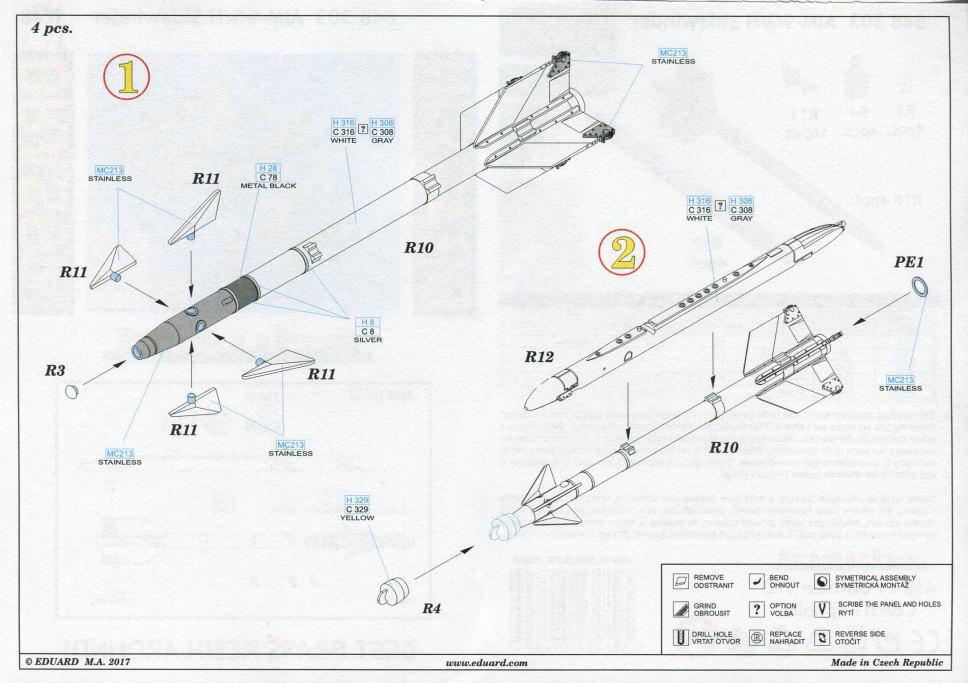 Eduard_F-14_Weapons-Set_15 F-14A Weapons Set - Eduard 1/48  ---  #SIN64828