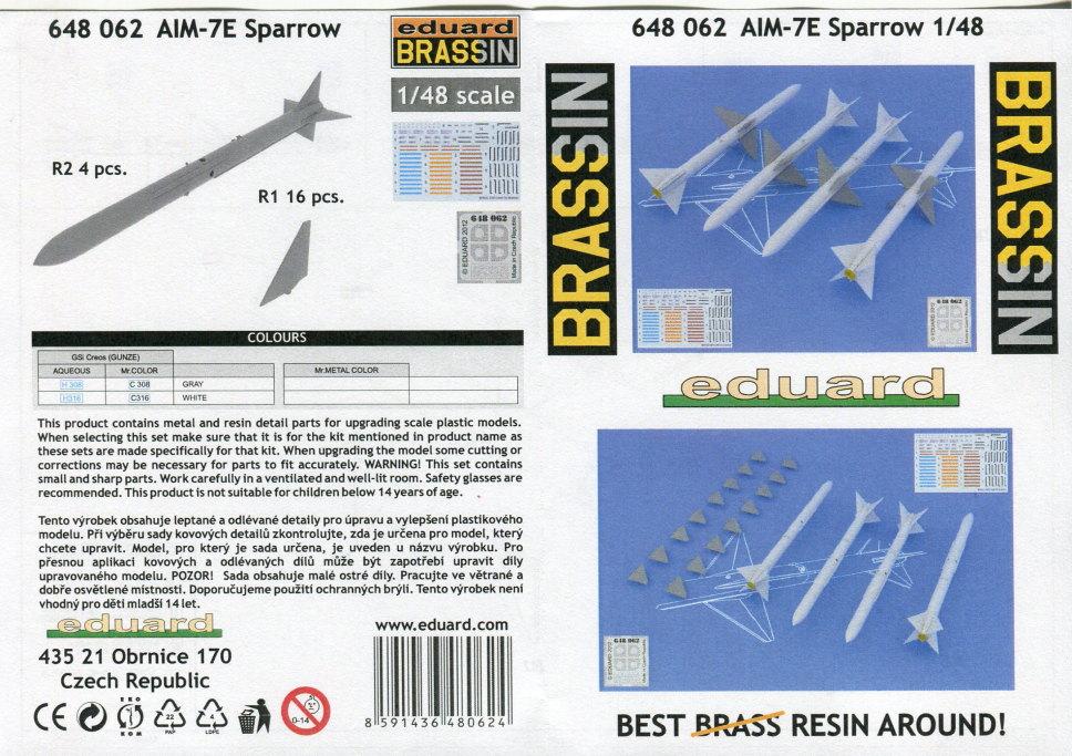 Eduard_F-14_Weapons-Set_16 F-14A Weapons Set - Eduard 1/48  ---  #SIN64828