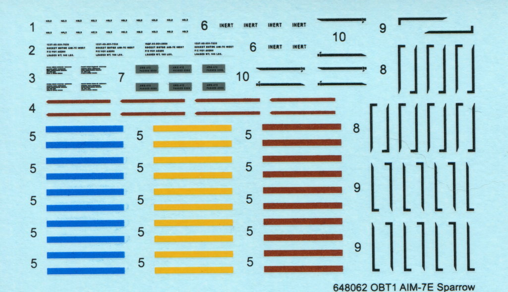 Eduard_F-14_Weapons-Set_32 F-14A Weapons Set - Eduard 1/48  ---  #SIN64828