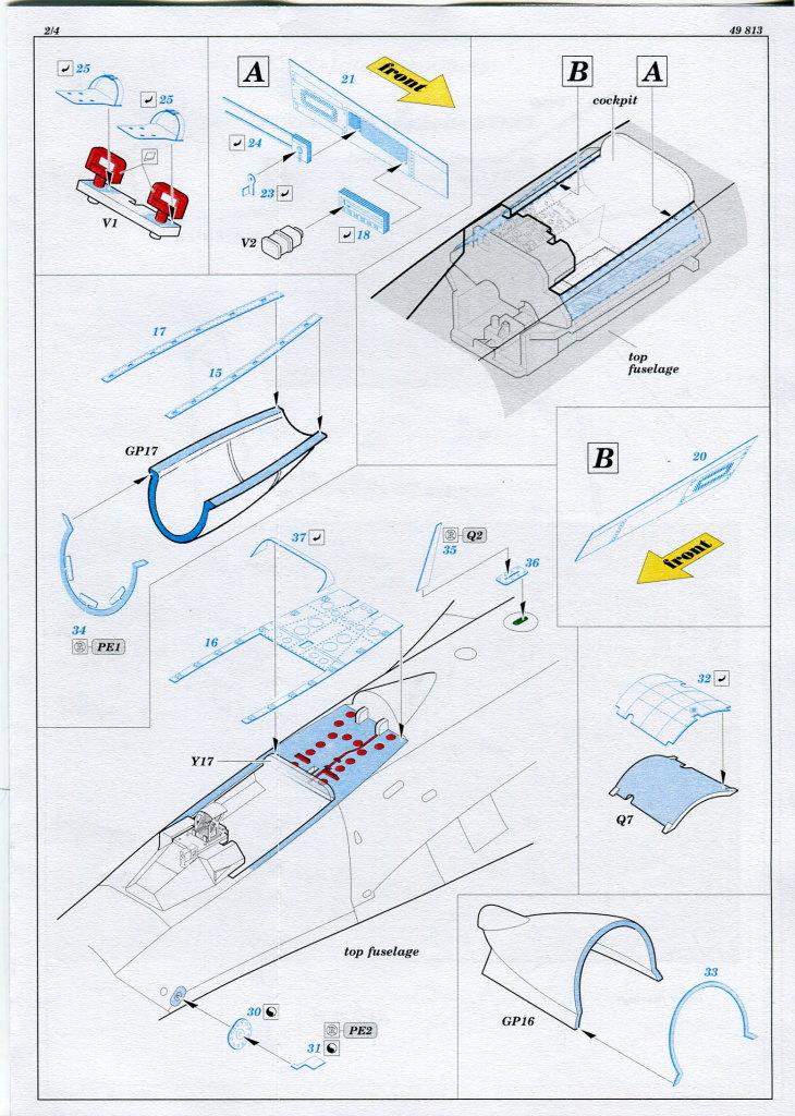 Eduard_Int_Su-27_HB_09 Eduard-Zubehör für die Su-27 Flanker B von Hobby Boss - 1/48