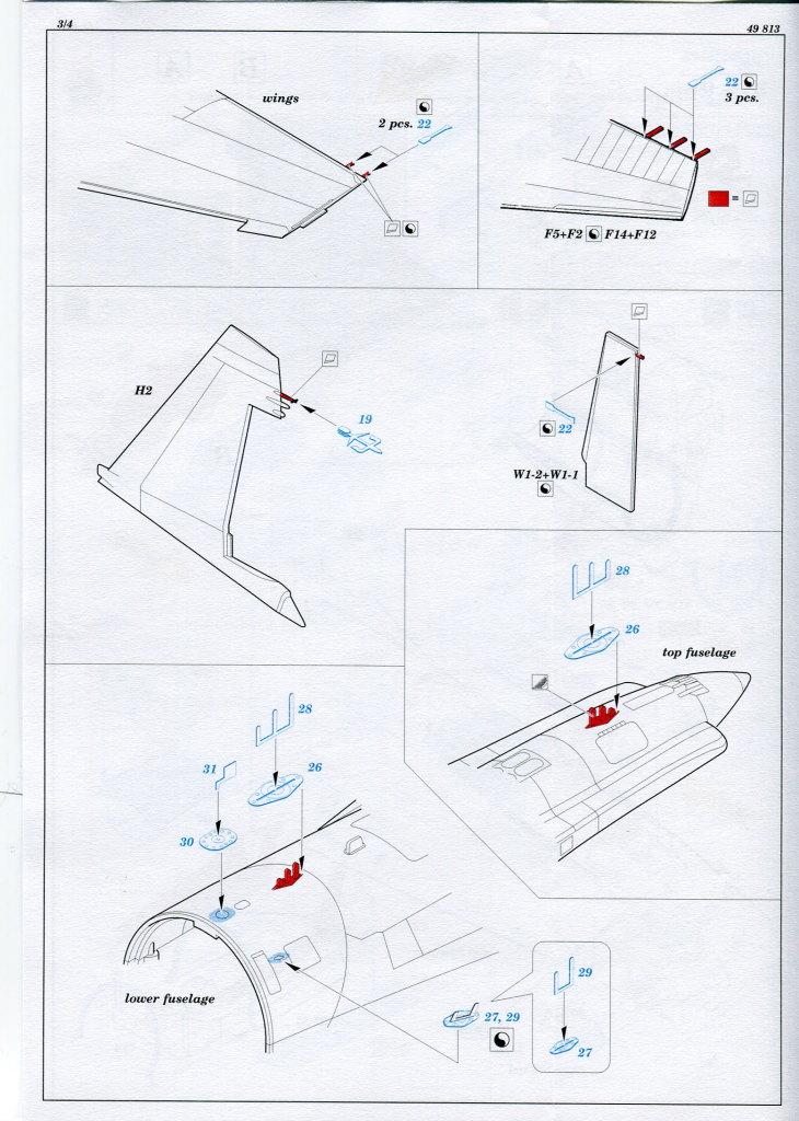 Eduard_Int_Su-27_HB_10 Eduard-Zubehör für die Su-27 Flanker B von Hobby Boss - 1/48