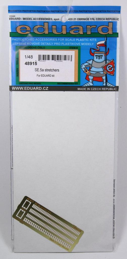 Eduard_SE.5a_stretchers_01 Eduard-Zubehör für die SE.5a - 1/48