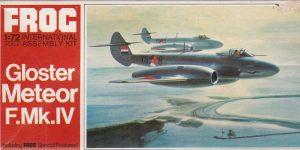 Gloster Meteor F.Mk. IV von FROG im Maßstab 1:72