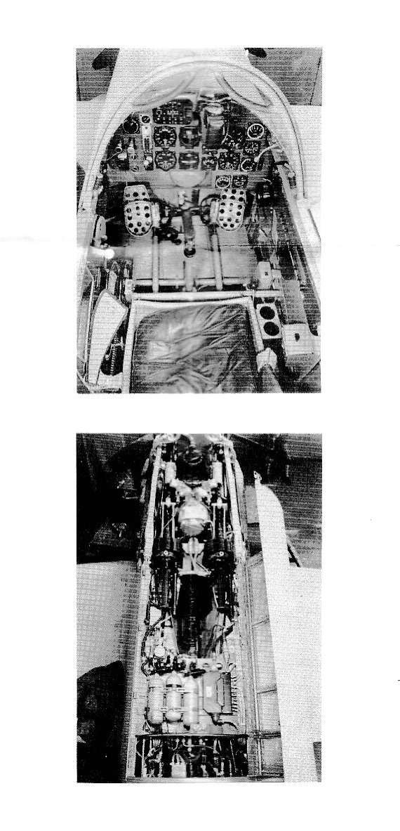 HUMA-Me-209-3 Messerschmitt Me 209 V1/V4 im Maßstab 1:72 von HUMA