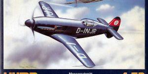 Messerschmitt Me 209 V1/V4 im Maßstab 1:72 von HUMA