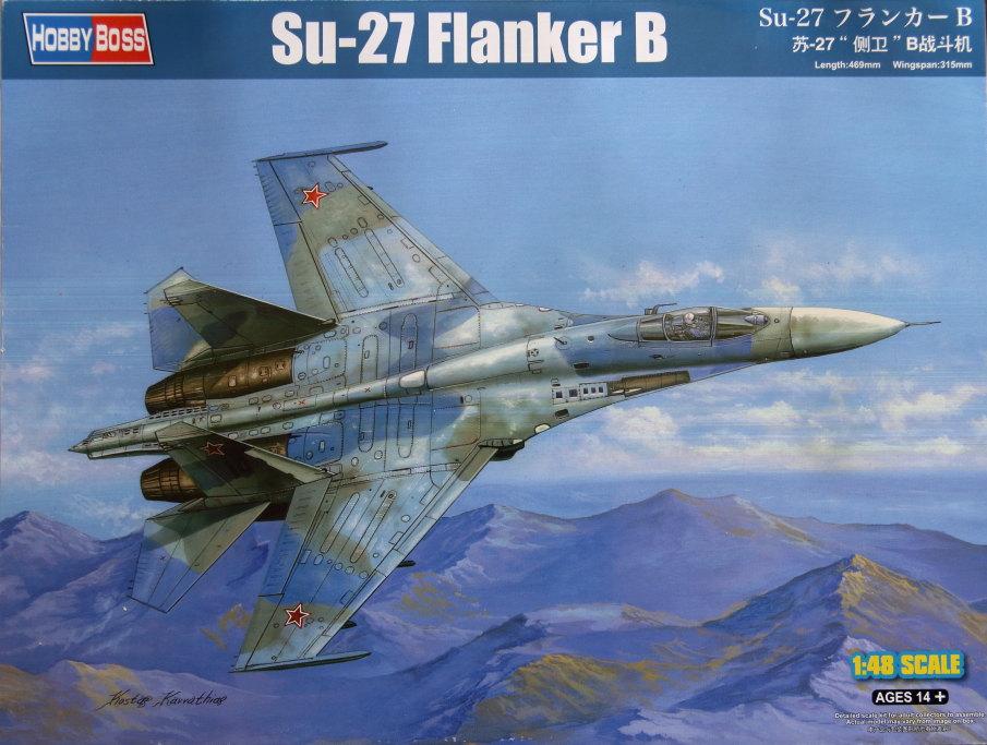 Hobby-Boss_Su-27_01 Su-27 Flanker B - Hobby Boss 1/48 --- 81711