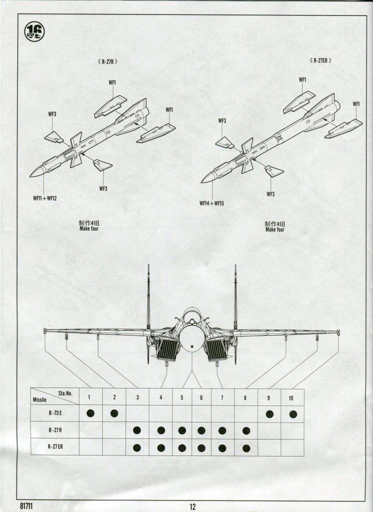 Hobby-Boss_Su-27_81 Su-27 Flanker B - Hobby Boss 1/48 --- 81711