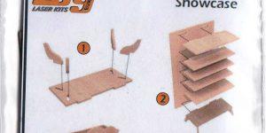 Wooden Showcase 1:35 von LSG Laser Kits über Yenmodels