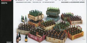 Beer Bottles and Crates – MiniArt – 1/35  —  35574