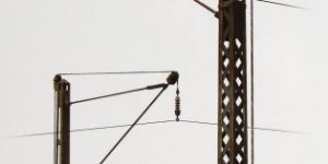 Railroad Power Poles and Lamps – MiniArt – 1/35  —  35570