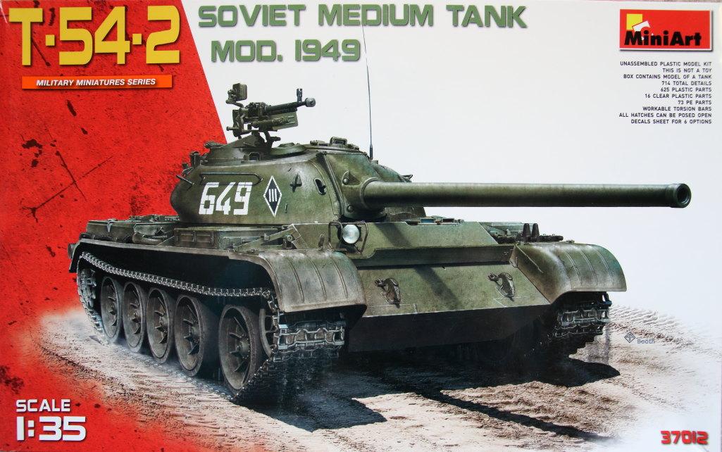 MiniArt_T-54-2_1949_001 T-54-2 Mod. 1949 - MiniArt - 1/35 --- #37012