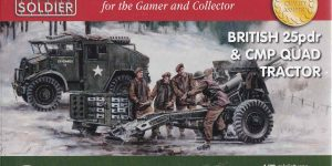 British 25 pdr & CMP Quad Tractor (Plastic Soldier Company 1:72)