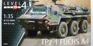 """Transportpanzer """"Fuchs"""" von Revell im Maßstab 1:35 ( 03256 )"""
