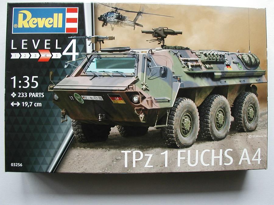 "Revell-03256-TPz-Fuchs-1 Transportpanzer ""Fuchs"" von Revell im Maßstab 1:35 ( 03256 )"