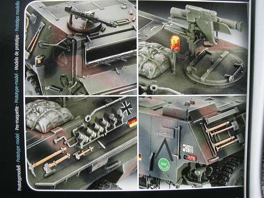 "Revell-03256-TPz-Fuchs-3 Transportpanzer ""Fuchs"" von Revell im Maßstab 1:35 ( 03256 )"