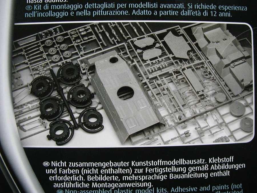 "Revell-03256-TPz-Fuchs-4 Transportpanzer ""Fuchs"" von Revell im Maßstab 1:35 ( 03256 )"