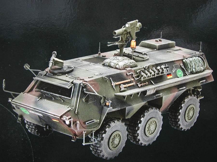 "Revell-03256-TPz-Fuchs-5 Transportpanzer ""Fuchs"" von Revell im Maßstab 1:35 ( 03256 )"