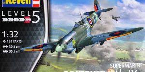 Spitfire Mk. IXc von Revell im Maßstab 1:32 ( 03927 )