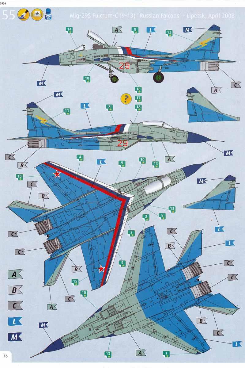 Revell-03936-MiG-29S-1zu72-4 MiG-29S Fulcrum von Revell (1:72; # 03936 )