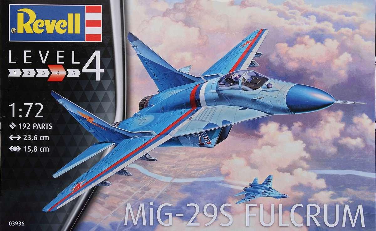 Revell-03936-MiG-29S-1zu72-7 MiG-29S Fulcrum von Revell (1:72; # 03936 )