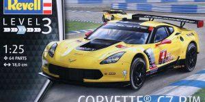 Corvette 7R von Revell im Maßstab 1:25