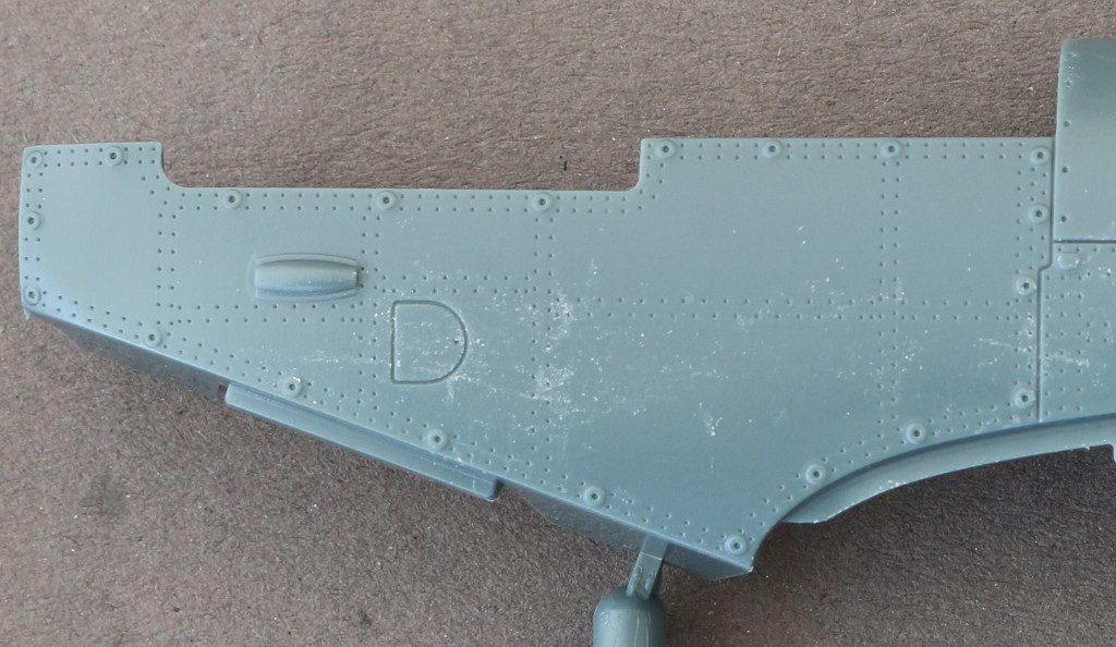 Rumpf-1-1024x594 Spitfire Mk. IXc (early version) Eduard ProfiPACK 1:48 (#8282)