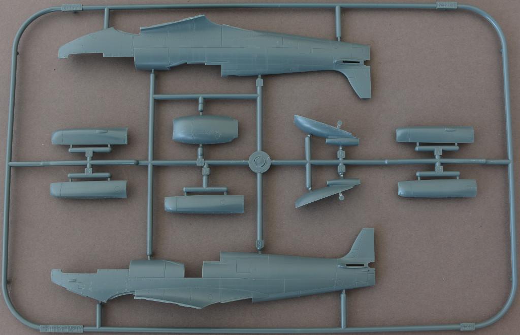 Rumpf Spitfire Mk. IXc (early version) Eduard ProfiPACK 1:48 (#8282)