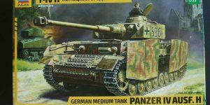 Panzer IV Ausf. H von ZVEZDA im Maßstab 1:35 ( # 3620 )