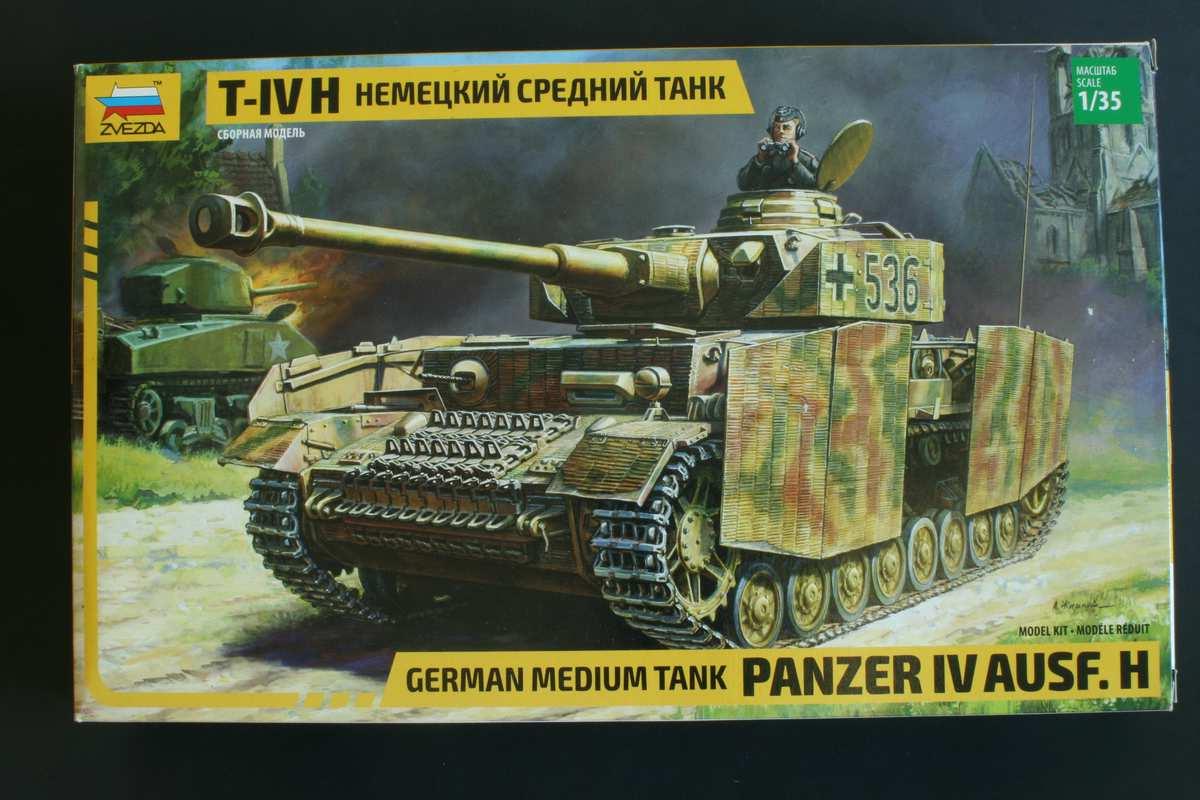 Zvezda-3620-Panzer-IV-Ausf.-H-17 Panzer IV Ausf. H von ZVEZDA im Maßstab 1:35 ( # 3620 )