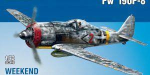 Focke Wulf FW 190 F-8 WEEKEND von Eduard (1:72) # 7440