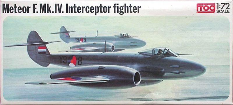 FROG-Gloster-Meteor-späte-Verpackungsvariante Das zweite Leben der Gloster Meteor F.Mk. IV in der Sowjetunion