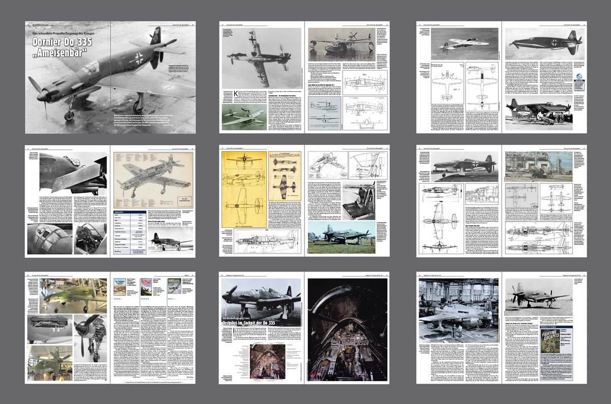 FliegerRevueX-Nr.-65-Do335 Die neue Flieger Revue X ist da!