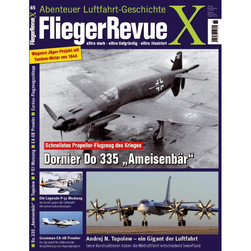 FliegerRevueX-Nr.-65-Titelblatt Die neue Flieger Revue X ist da!