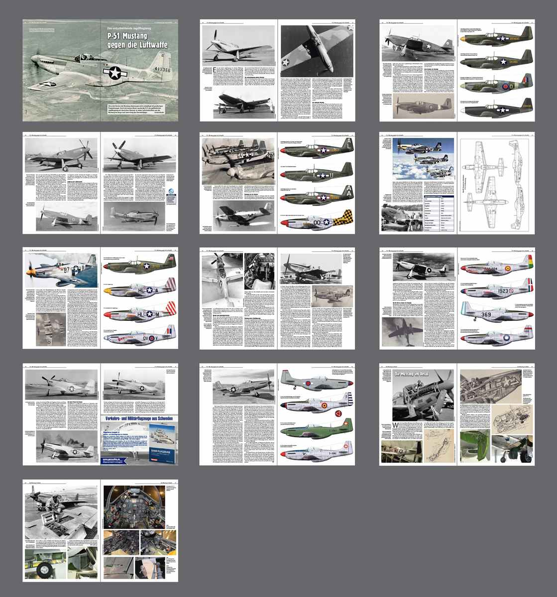 FliegerRevueX-Nr.65-P-51-Mustang Die neue Flieger Revue X ist da!