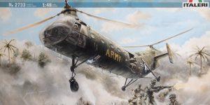 H-21C Shawnee 'Flying Banana' – Italeri 1/48  —  #2733