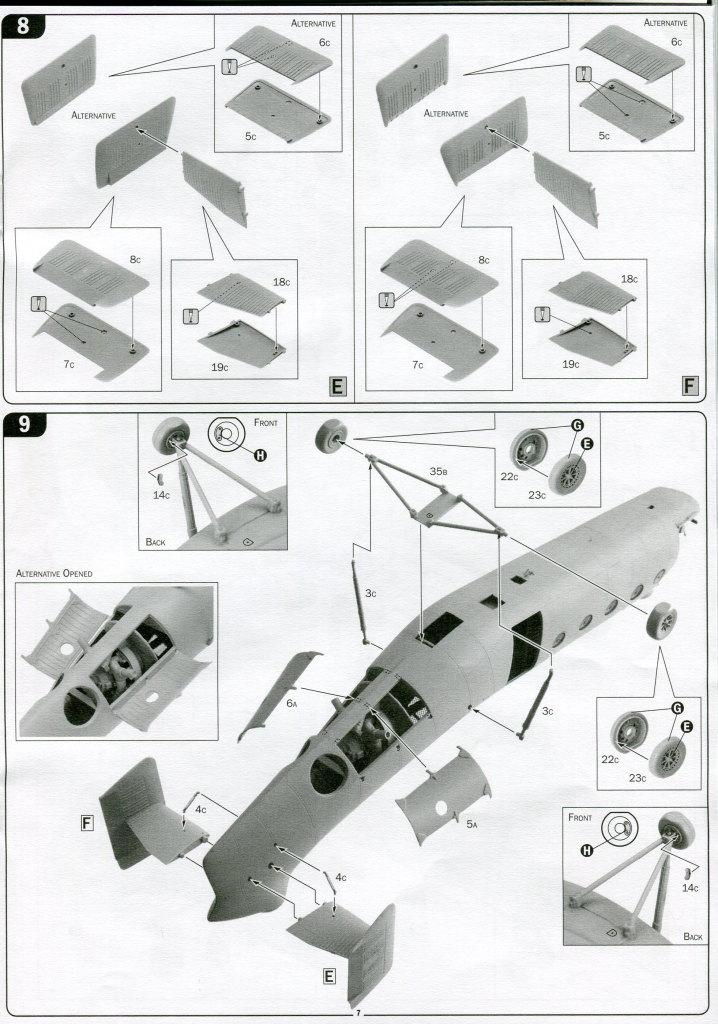 Italeri-H-21C_44 H-21C Shawnee 'Flying Banana' - Italeri 1/48  ---  #2733