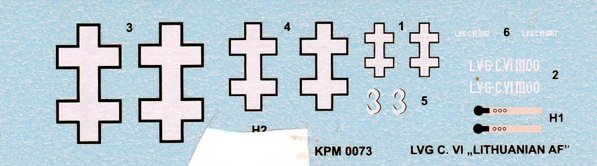 Kovozavody-KPM-073-LVG-C.VI-Litauen-18 LVG C.VI von Kovozavody in 1:72