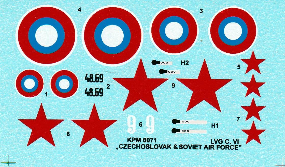 Kovozavody-LVG-C.VI-Czech-and-Russia-1 LVG C.VI von Kovozavody in 1:72
