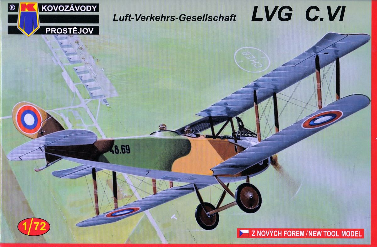 Kovozavody-LVG-C.VI-Czech-and-Russia-2 LVG C.VI von Kovozavody in 1:72