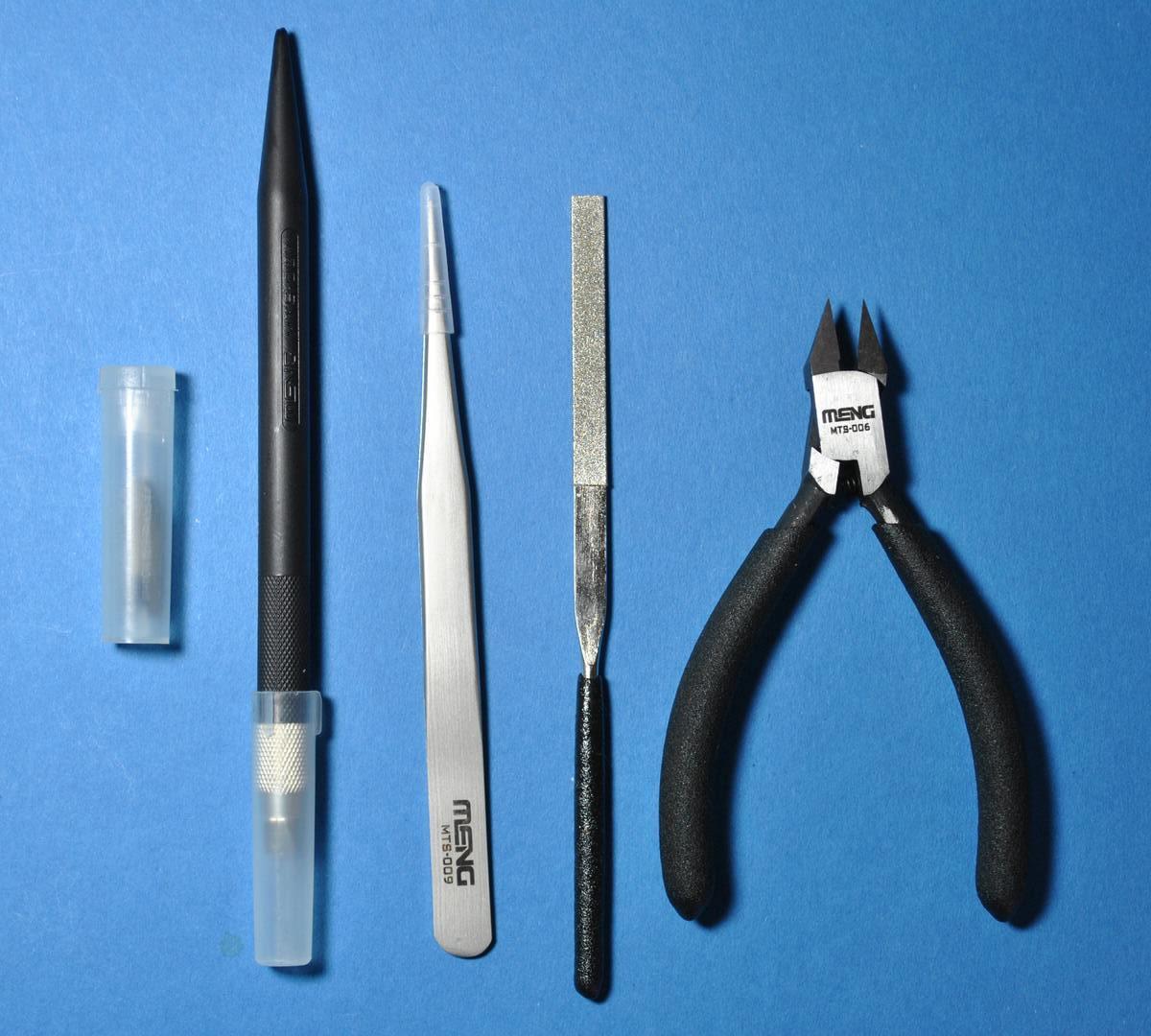 MENG-Werkzeug-1 Basic Hobby Tool von MENG