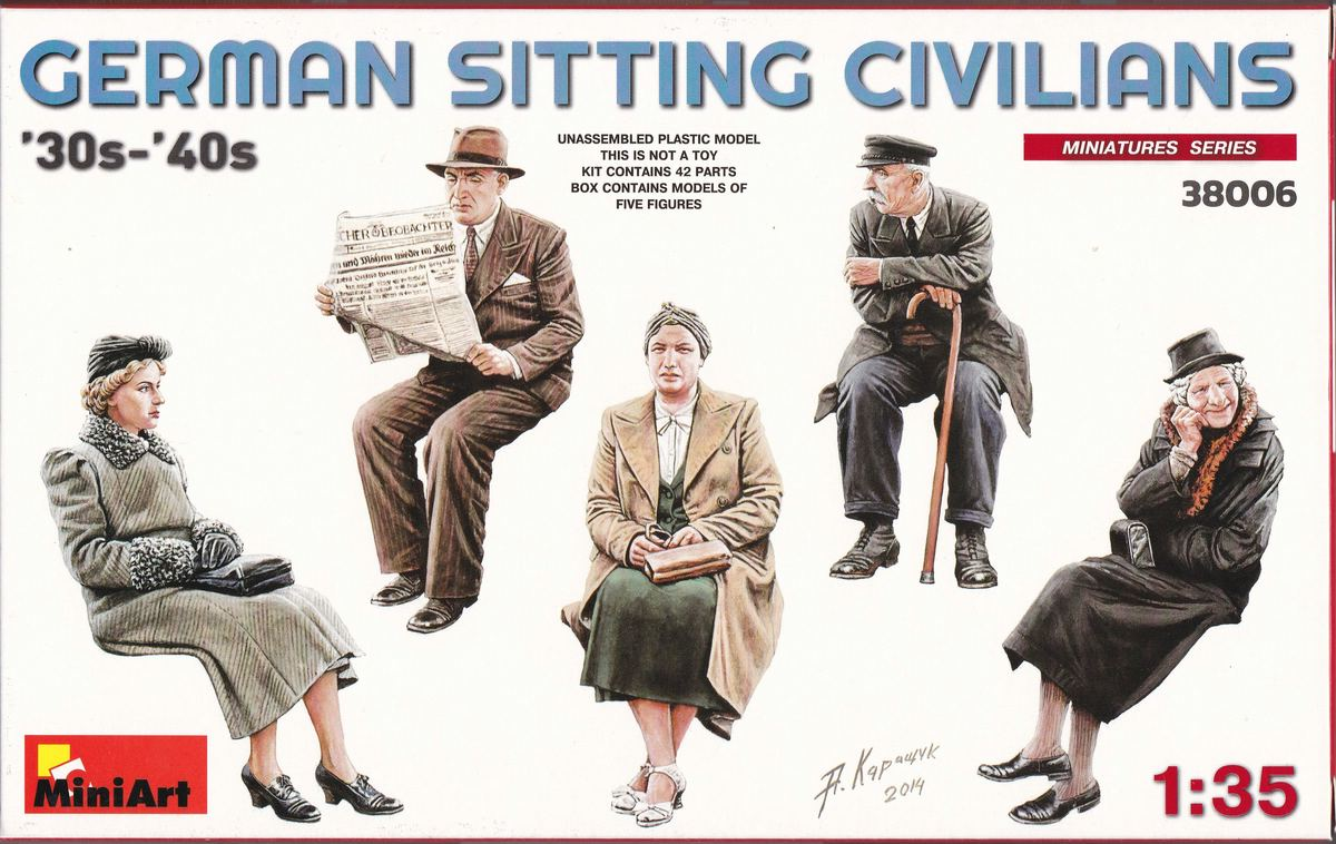 MiniArt-38006-German-Sitting-Civilians-30s-40s-6 German sitting civilians 1930s - 1940s  MiniArt 38006
