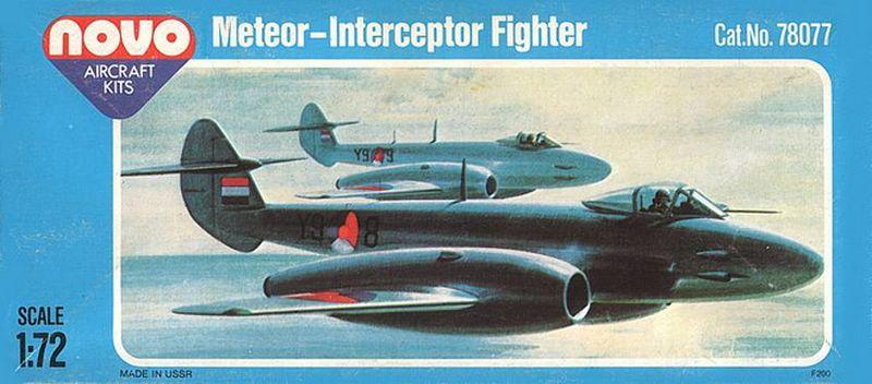 NOVO-Gloster-Meteor-F.Mk_.IV-Deckelbild Das zweite Leben der Gloster Meteor F.Mk. IV in der Sowjetunion