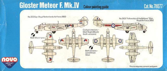 NOVO-Gloster-Meteor-F.Mk_.IV-Farbschemen Das zweite Leben der Gloster Meteor F.Mk. IV in der Sowjetunion