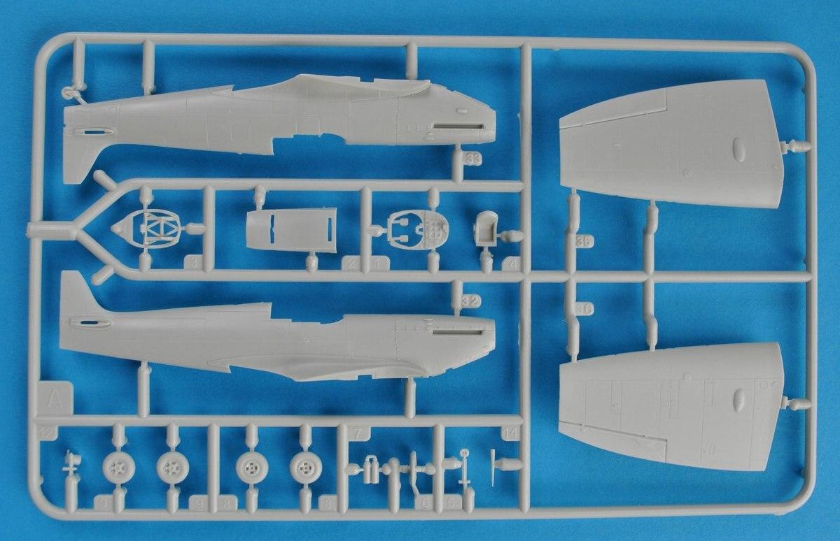 Revell-03953-Spitfire-Mk.-IIa-1zu72-14 Spitfire Mk.IIa im Maßstab 1:72 von Revell ( # 03953 )